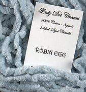 Silk /'n Colors 015 Robin Egg Blue Made by TheThreadGatherer Silk Embroidery Floss Hand Dyed Floss Cross Stitch Thread Needlepoint