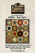 Star Quilt - Cross Stitch Pattern