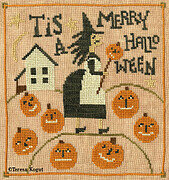 Merry Halloween - Cross Stitch Pattern