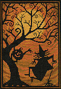 Moondance - Halloween Cross Stitch Pattern