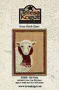 For Ewe - Cross Stitch Pattern