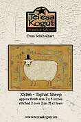 Tophat Sheep - Cross Stitch Pattern