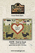 God is Good - Religious Cross Stitch Pattern