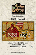 Farmgirl - Cross Stitch Pattern