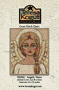Angelic Vision - Cross Stitch Pattern