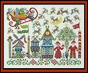 North Pole Welcome - Cross Stitch Pattern