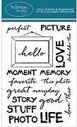 Perfect Picture - Clear Stamp