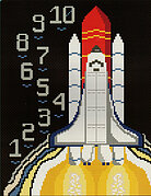 A Geek's Guide to Cross Stitch: Journeys in Space