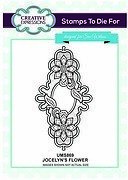 Jocelyn's Flower - Sue Wilson Unmounted Rubber Stamp