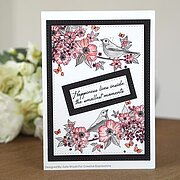 Nightingale's Song - Designer Boutique - A6 Clear Stamp
