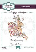 Running Free - Designer Boutique - A6 Clear Stamp