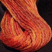 Valdani 6-Ply Thread - Terra Cotta Twist