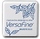 VersaFine Small Ink Pads - Majestic Blue