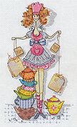 Tea Fairy - Cross Stitch Kit