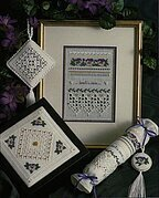 Pansy Sampler - Cross Stitch Pattern