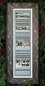 Winter Holiday - Cross Stitch Pattern
