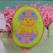 Hatching Chick - Cross Stitch Pattern