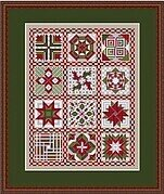 Friendship Quilt V for This and That - Cross Stitch Pattern