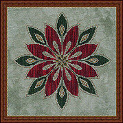 Christmas Flower - Cross Stitch Pattern