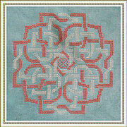 Bound Hearts - Cross Stitch Pattern