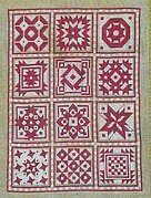 Red Quilt - Cross Stitch Pattern