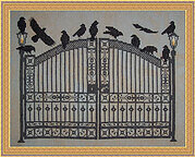Gatekeepers - Cross Stitch Pattern