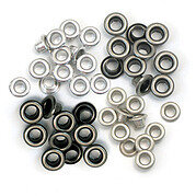 Standard Pink Assortment We R Memory Keepers Eyelets For Scrapbooking