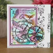 Marks Background Textures - Clear Singles Stamp