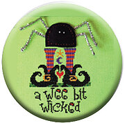 A Wee Bit Wicked - Halloween Zappy Dots Needle Nanny