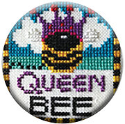 Queen Bee - Zappy Dots Needle Nanny