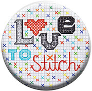 Love to Stitch - Zappy Dots Needle Nanny