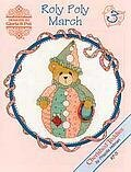 Roly Polys March - Cherished Teddies Cross Stitch Pattern