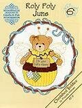 Roly Polys June - Cherished Teddies Cross Stitch Pattern
