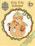 Roly Polys October - Cherished Teddies Cross Stitch Pattern