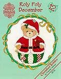 Roly Polys December -Cherished Teddies Cross Stitch Pattern