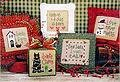 Tiny Tidings VII - Cross Stitch Pattern