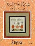 Gather a Harvest - Cross Stitch Pattern
