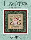 Wanted! Santa 02 - Cross Stitch Pattern