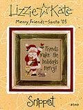 Merry Friends (Santa 03) - Cross Stitch Pattern
