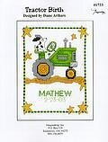 Tractor Birth - Cross Stitch Pattern
