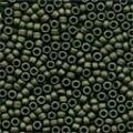 Mill Hill 03014 Matte Olive Antique Seed Beads - Size 11/0