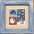 Flip-it Blocks January - Cross Stitch Pattern