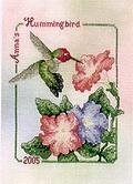 Anna's Hummingbird - Cross Stitch Pattern