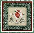 Here Comes Santa 05 - Cross Stitch Pattern