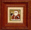 Littles - Santa - Cross Stitch Pattern