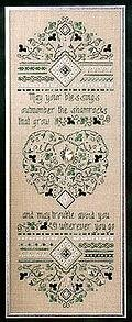 Irish Blessing Sampler - Cross Stitch Pattern