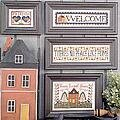 Home Words - Cross Stitch Pattern