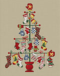 Pair Tree - Cross Stitch Pattern