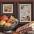 Thanksgiving Comes Again - Cross Stitch Pattern