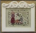 Curly Q Ewe - Cross Stitch Pattern